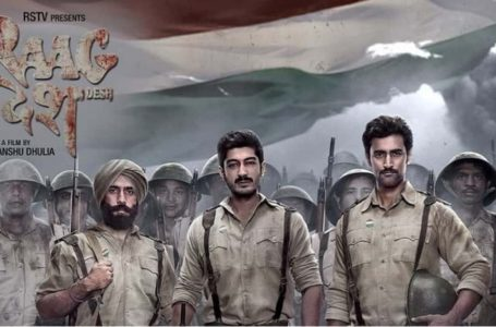 A VERY BRAVE AND PASSIONATE FILM, RAAG DESH MAY FIND FEWER TAKERS !!!
