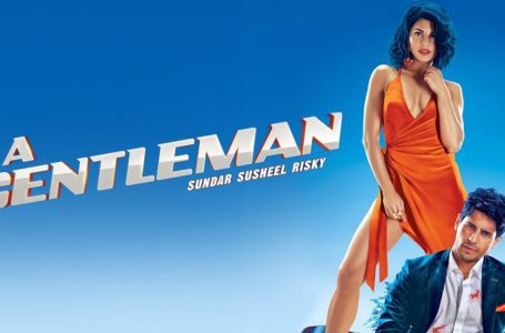 'A GENTLEMAN' IS JUST FOR CASUAL TIME PASS.  WATCH IT FOR INTERESTING 1ST HALF SCREENPLAY..