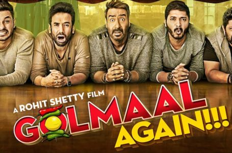 GOLMAAL AGAIN SATISFACTORILY SERVES YOU WHAT IS EXPECTED. WISH IT HAD A MORE SENSIBLE SCREENPLAY…!