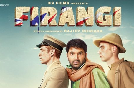 AN EARNEST ATTEMPT, FIRANGI REMAINS TRUE TO THE GENRE !!
