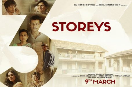 3 STOREYS is a good one time watch. An unconventional thriller ! Salutes to Renuka Shahane