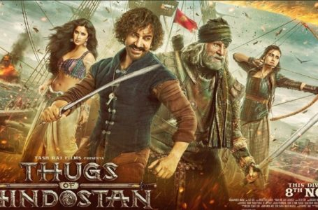 SATISFACTORILY WRITTEN 'THUGS OF HINDOSTAN' IS BORDERLINE ENTERTAINING