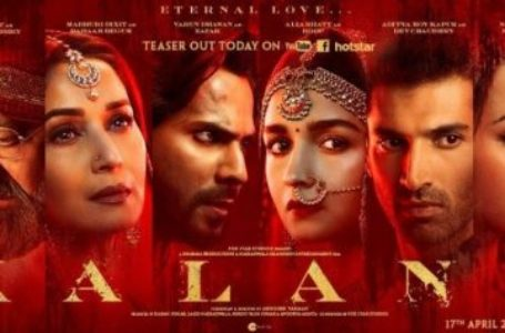 VISUALLY GRAND 'KALANK' COULD HAVE AVOIDED BEING TOO FAKE AND ARTIFICIAL