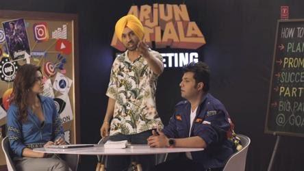 Arjun patiala, hindi, review, film, 2019