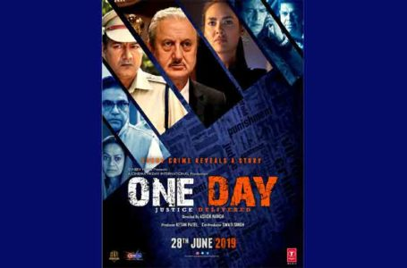 GENUINE AND STRONG IN INTENTIONS AND PREMISE, 'ONE DAY' FALLS BACK DUE TO FLAWED DIRECTION