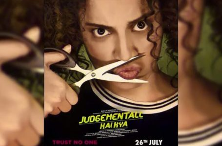 A WHACKY THRILLER, 'JUDGEMENTALL HAI KYA' IS A SUSPENSE LADEN ROLLER COASTER