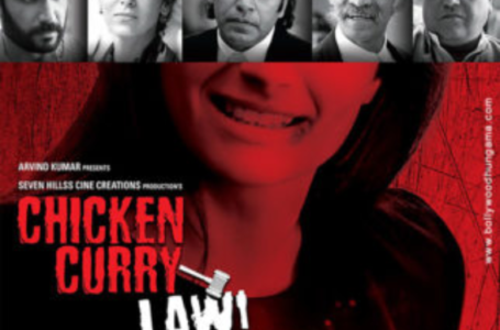 IT'S ONLY THE IDEA IN 'CHICKEN CURRY LAW' THAT IS GOOD