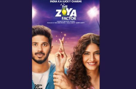 TRYING INTENSELY HARD, 'THE ZOYA FACTOR' MANAGES TO STRIKE A CHORD