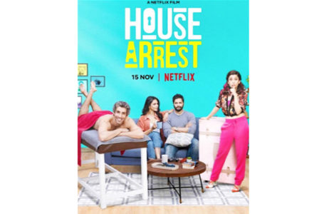 AWESOME IN IDEATION, 'HOUSE ARREST' IS A LETDOWN IN EXECUTION