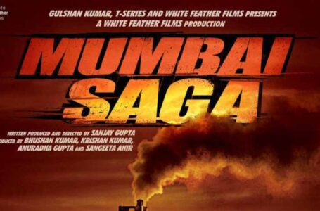 'MUMBAI SAGA' SEEMS LIKE A REVISIT TO SHOOTOUT FRANCHISE