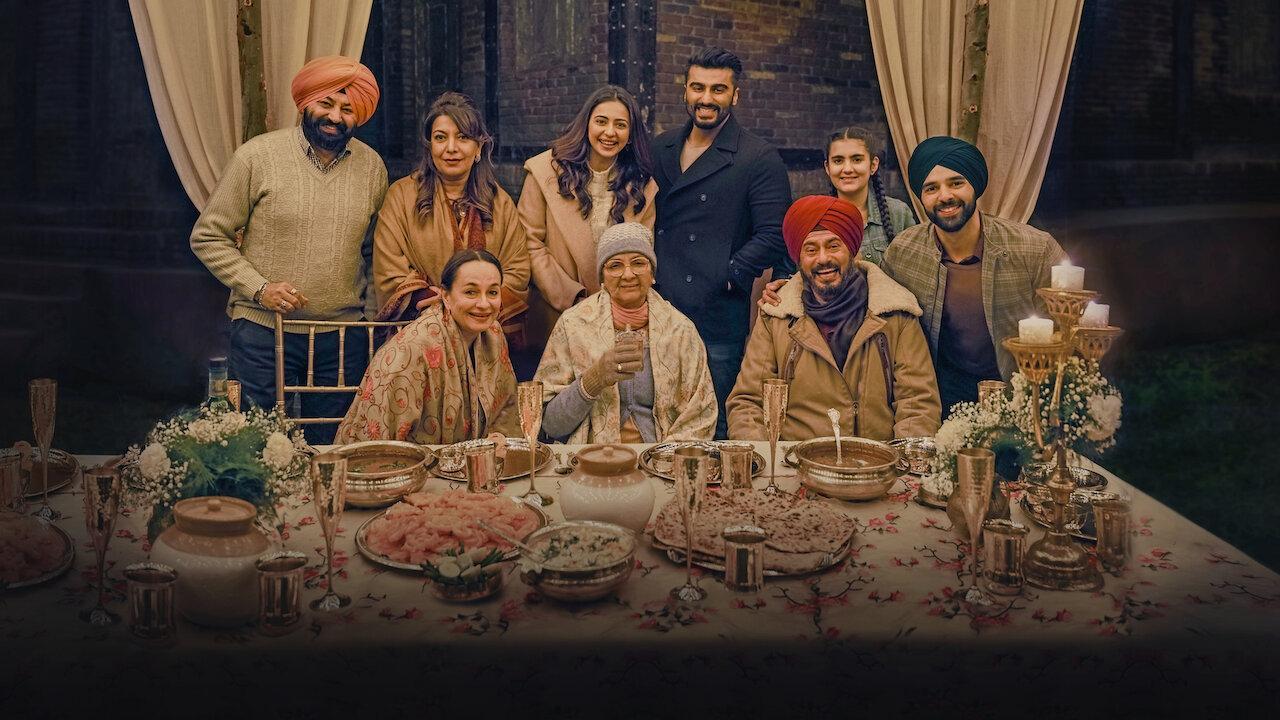 sardar ka grandson, netflix, review, film, hindi, 2021