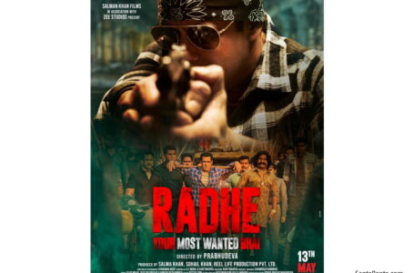 'RADHE' DOESN'T EVEN LIVE UPTO ITS OWN PROMISE OF BEING A MASALA ENTERTAINER