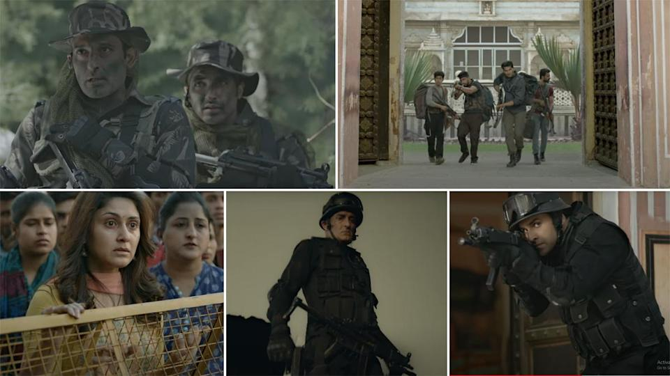 state of siege, zee5. hindi. film, review, 2021